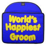 Fun Weddings & Happy Grooms  Worlds Happiest Groom MacBook Pro Sleeves