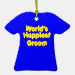Fun Weddings & Happy Grooms  Worlds Happiest Groom Ornaments