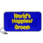 Fun Weddings & Happy Grooms  Worlds Happiest Groom PC Speakers