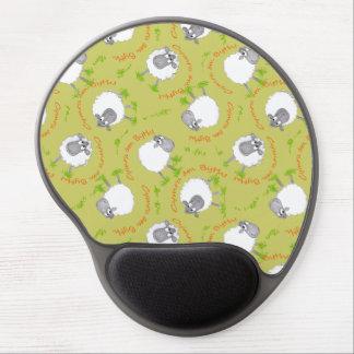 Fun Welsh Sheep, Wales Forever Custom Mousepad Gel Mouse Pad
