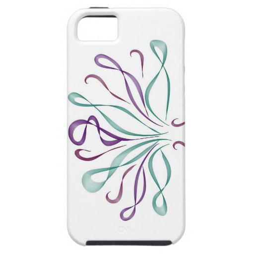 Fun whimsical bouquet iPhone 5 case