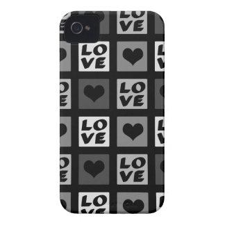 Fun Whimsical Love and Hearts iPhone 4 Cover