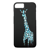 Fun Wild Animal Abstract Giraffe iPhone 7 Case
