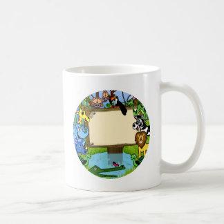 Fun with animals classic white coffee mug