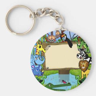 Fun with animals keychain