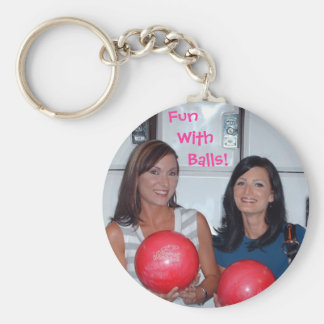 Fun With Balls Keychain