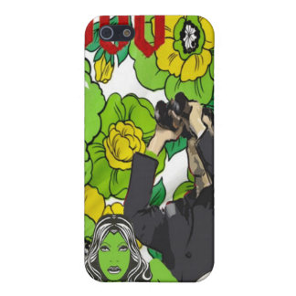 Fun with Flowers (Gardening on the Moon) Cover For iPhone SE/5/5s