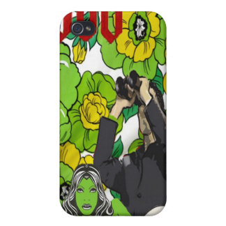 Fun with Flowers (Gardening on the Moon) iPhone 4/4S Cases