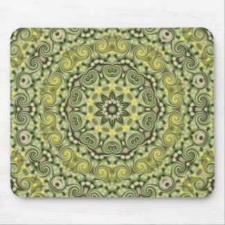 fun with Lime Green Mouse Pad