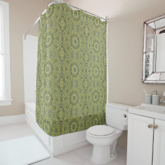 Lime Green Shower Curtains | Zazzle