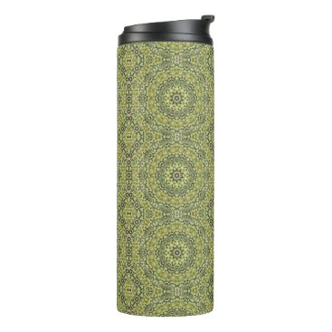 Beach Themed Fun with lime green thermal tumbler