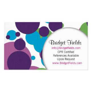 Fun with Polka Business Card