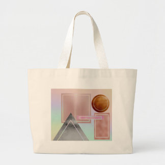 Fun with shapes.metallic,gold,rose gold,silver, large tote bag