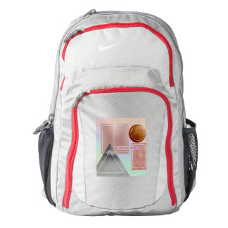 Fun with shapes,metallic,gold,rose gold,silver,ult backpack