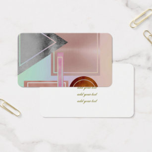 Rose shaped business cards templates zazzle fun with shapesmetallicgoldrose goldsilverult business card colourmoves Gallery
