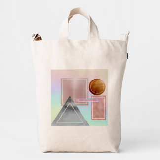 Fun with shapes,metallic,gold,rose gold,silver,ult duck bag