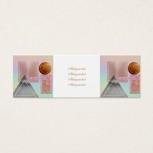 Rose shaped business cards templates zazzle fun with shapesmetallicgoldrose goldsilverult mini business colourmoves Gallery
