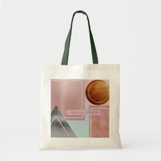 Fun with shapes,metallic,gold,rose gold,silver,ult tote bag