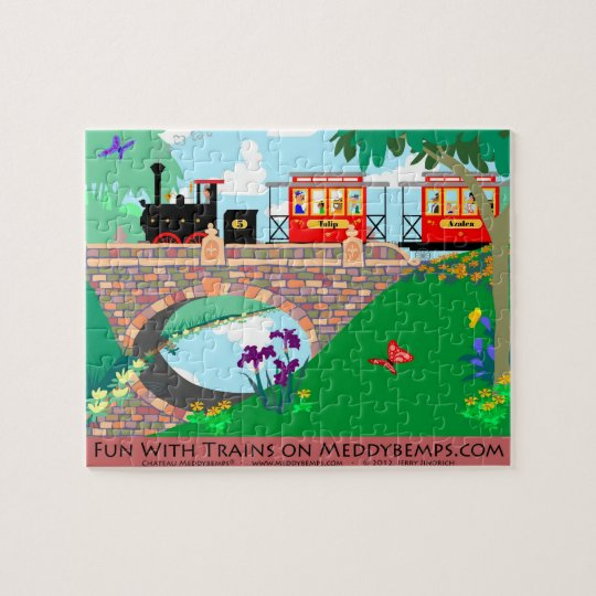 Fun With Trains Jigsaw Puzzle