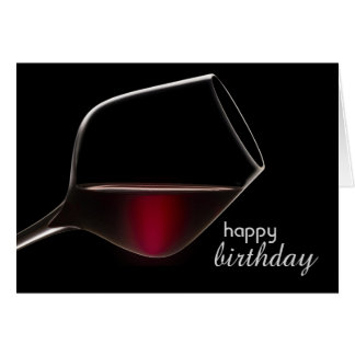 Fun with Wine Birthday Card