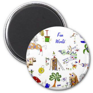 Fun World imán
