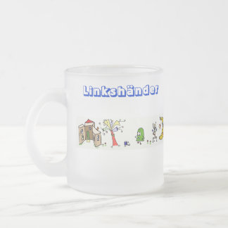 Fun World left-handed person right-hander cup Mugs