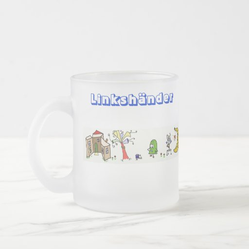 Fun World taza de diestro de zurdo