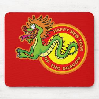 Fun Year of the Dragon Design Mouse Pad