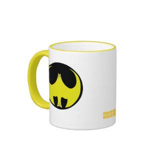 Fun Yellow Bat-Cat Mug