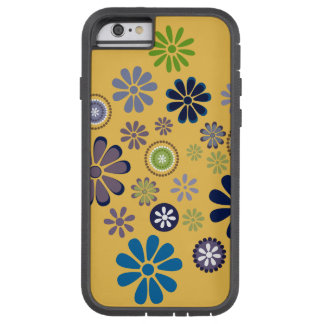 Fun Yellow iPhone case with Winter Daisies Tough Xtreme iPhone 6 Case