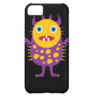 Fun Yellow Purple Monster Creature Gifts for Kids iPhone 5C Cover