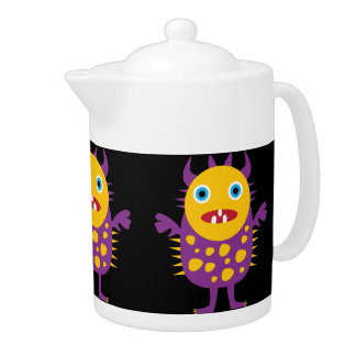 Fun Yellow Purple Monster Creature Gifts for Kids