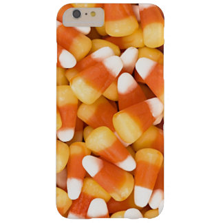 Fun Yellow White Orange Halloween Candy Corn Barely There iPhone 6 Plus Case