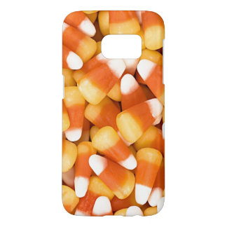 Fun Yellow White Orange Halloween Candy Corn Samsung Galaxy S7 Case