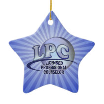 FunBlueLPC.png Ceramic Ornament