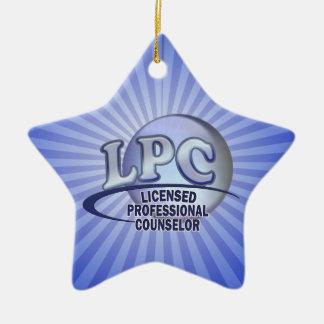 FunBlueLPC.png Ceramic Ornament
