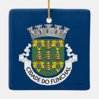 Funchal Madeira Christmas Ornament