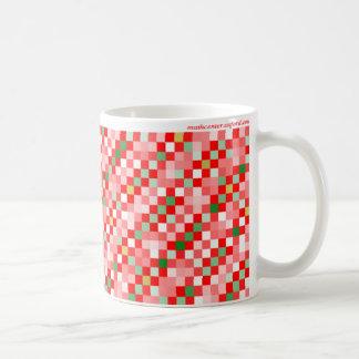 Función de la sigma del navidad taza de café