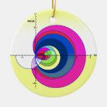 Función de zeta de Riemann yellow.png Ornamento De Navidad