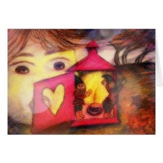 Funciona tarjeta `` Fairytale visitors´´