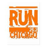 Funcionamiento 26,2 Chicago Tarjeta Postal