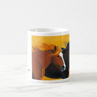 Funcionamiento con la taza de café del viento