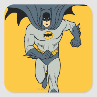 Funcionamiento de Batman Pegatina Cuadrada