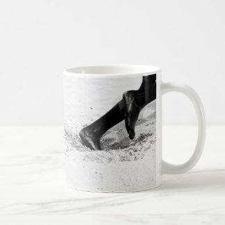 funcionamiento de la arena taza básica blanca