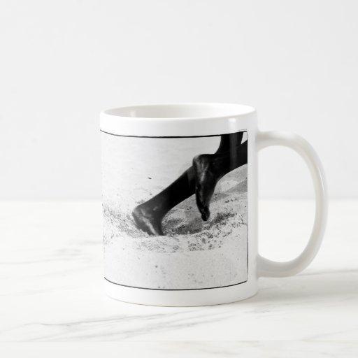 funcionamiento de la arena taza de café