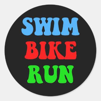Funcionamiento de la bici de la nadada etiquetas