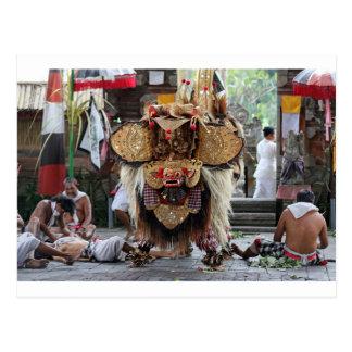 Funcionamiento de la danza de Barong del Balinese