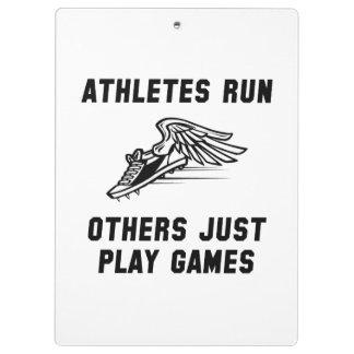 Funcionamiento de los atletas