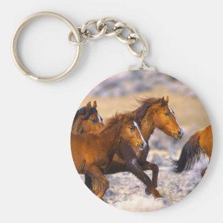 Funcionamiento de los caballos llavero redondo tipo pin