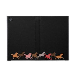 Funcionamiento de los caballos salvajes iPad mini protector